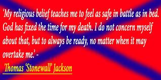 Stonewall Jackson Quotes Enchanting My Religious Belief' Stonewall Jackson Quote By DRYDesigns On