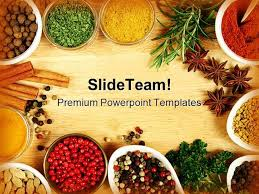 Free Food Powerpoint Templates Spices Food Powerpoint Templates And Powerpoint Backgrounds