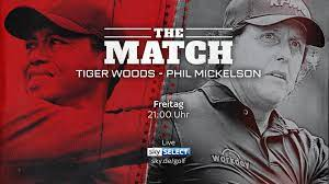 The Match: Tiger Woods - Phil Mickelson ...