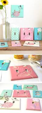 ... DIY Designer Switchplates | DIY Home Decor Ideas On A Budget | Click  For Tutorial |