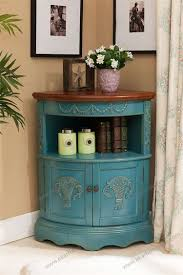 Vintage Corner Cabinet Vintage Corner Cabinets Living Room Storage Cabinets From