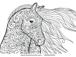 Free Printable Coloring Sheets Horses Pages Carousel Horse Of Color