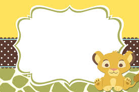 baby shower invitation blank templates lionkingblank jpg 1280 853 laurel s baby shower pinterest