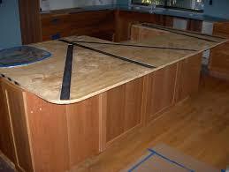 granite countertop overhang support requirements steel bars in
