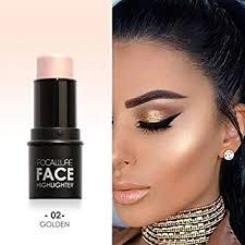 amazon waterproof lasting women highlight contour stick beauty makeup face powder cream shimmer concealer beauty