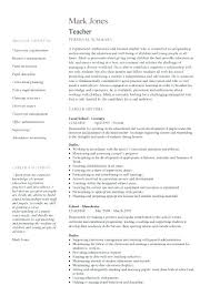 Latest Resume Format For Teachers Interesting Latest Resume Format Teachers Medicinabg
