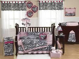 pink black white funky zebra baby bedding animal print baby bedding by jojo only 85 99