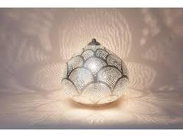 oriental lighting. Zenza Oriental Filigree Table Lamp From Egypt Princess Fan Silver - L Lighting