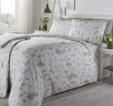 appletree grass meadow green duvet cover set double to enlarge