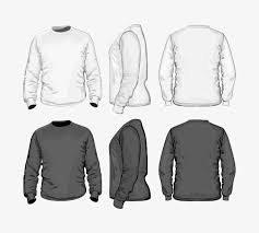 Clothes Template Mens Long Sleeved Clothes Template Long Sleeve Men S Coat Png