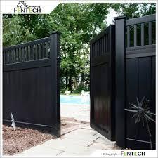 black vinyl privacy fence. High Quality White Black Vinyl Privacy Fence Factory Supply S