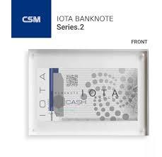 Iota Design Iota Banknote Series 2 Design Iota