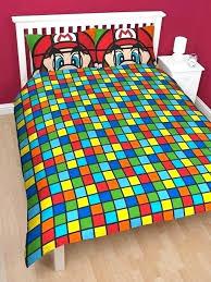 super mario bedding super bedding full size super brothers retro double panel duvet cover bedding set