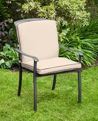 seat cushions for outdoor metal chairs. replacement-cushion-for-homebase-lucca-metal-garden-patio- seat cushions for outdoor metal chairs t