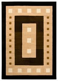 chandra ganesh ganesh5 rug black brown green cream contemporary area rugs by arearugs