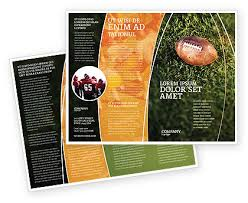 Football Brochure Template Football Championship Brochure Template ...