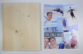 this is the easiest way to transfer a photo to wood through to see