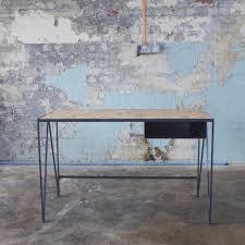 contemporary study furniture. Wooden Desk / Steel Contemporary - Study By \u0026New Furniture