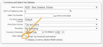 Send A Tax Invoice Instead Of An Invoice Layout Formatting