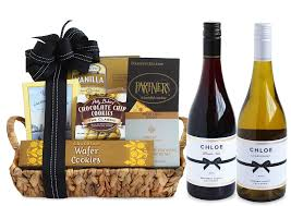 supplemental gift image delectable duet wine gift basket
