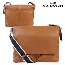coach coach mens messenger bag saddle hwl leather messenger bag