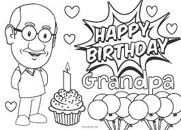 By best coloring pagesapril 9th 2015. Free Printable Happy Birthday Coloring Pages For Kids