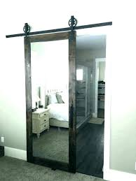 open closet door