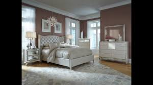 Hollywood Loft Upholstered Bedroom Set in Pearl by Michael Amini ...