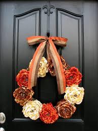 thanksgiving front door decorations35 Thanksgiving Door Wreath Ideas For Warm Welcoming
