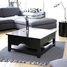 Black Coffee Tables Coffee Table Glamorous Square Black Coffee Table Design Ideas End