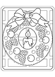 Kleurplaat Kerst Kaarsen 4230 Kleurplaten