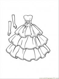 Small Picture This Dress Goes With Gloves Coloring Page Free Clothing Coloring