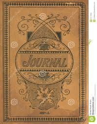 antique vine diary journal book cover stock image image of rectangle calligraphy