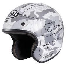 Arai Rx Q Helmet Arai Freeway 2 Command Jet White Helmets