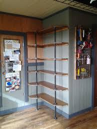 Building Corner Shelves DIY Corner Shelving 47