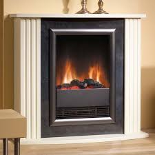 dimplex mozart stone effect optiflame electric fireplace suite