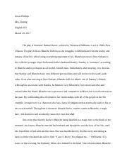 a streetcar d desire critical essay a streetcar d  4 pages a streetcar d desire essay