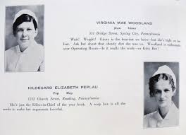 The Mother of Psychiatric Nursing: Hildegard E. Peplau | Keeper of Berks  County's History Mysteries