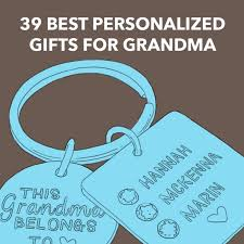 39 best personalized gifts for grandma customized just for her dodo burd