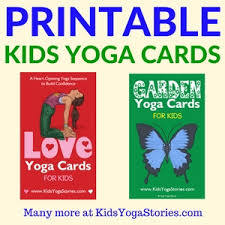 Printable Kids Collection Of Printable Yoga Cards For Kids Movement In Your Classroom