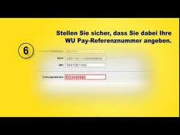 Geld überweisen western union