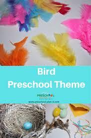 Birds Chart For Kindergarten Preschool Birds Theme