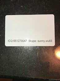 White Printing Electricity - Manufacturer Magnetic Electronics Usa Blank amp; Card china Id Teslin Smart