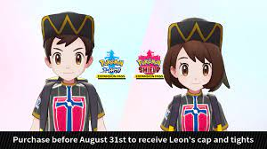 Pokemon Sword and Shield Leon Outfit Is an Early Purchase Item