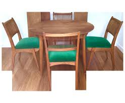 second hand round table and chairs fresh this mid century modern dining set has been refinished