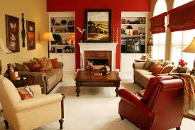 brown and red living room ideas. Tremendous Red Accent Chair Living Room Decorating Ideas Brown And V