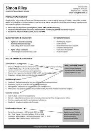 Skills Based Resume Examples Resume Sample