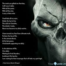 The Mask You Gifted Me Th Quotes Writings By Sachin Dhingra