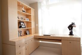 hidden home office. Hideaway Wooden Hidden Desk Furniture Stained Varnished Interior Design Cool Decorations Drawers Shelves White Window Curtain Home Office N