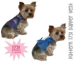 Dog Harness Pattern Inspiration Dapper Dog Vest Pattern 48 Bundle 48 Sizes Dog Clothes Sewing
